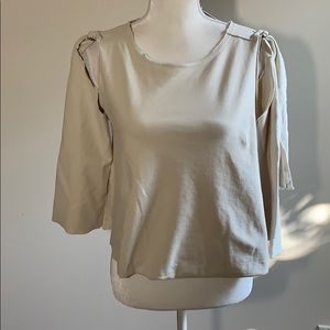 NWT Errant for Free People Cold Shoulder Top